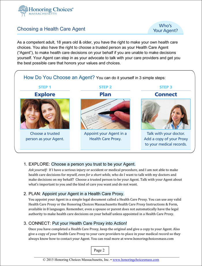 Health Care Proxy Toolkit (Download) - Seacoast Senior Resources