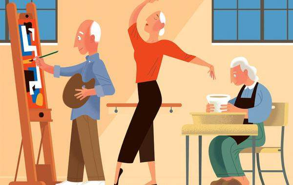 arts and aging